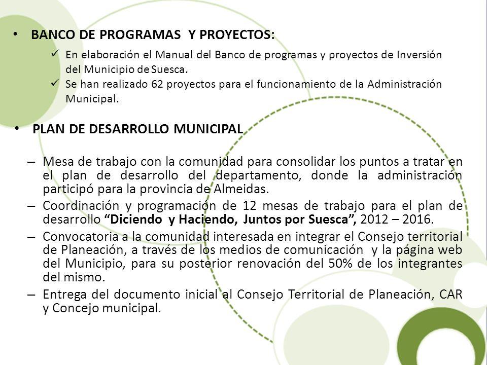 – Mesa de trabajo con la comunidad para consolidar los puntos a tratar en el plan de desarrollo del departamento, donde la administración participó pa