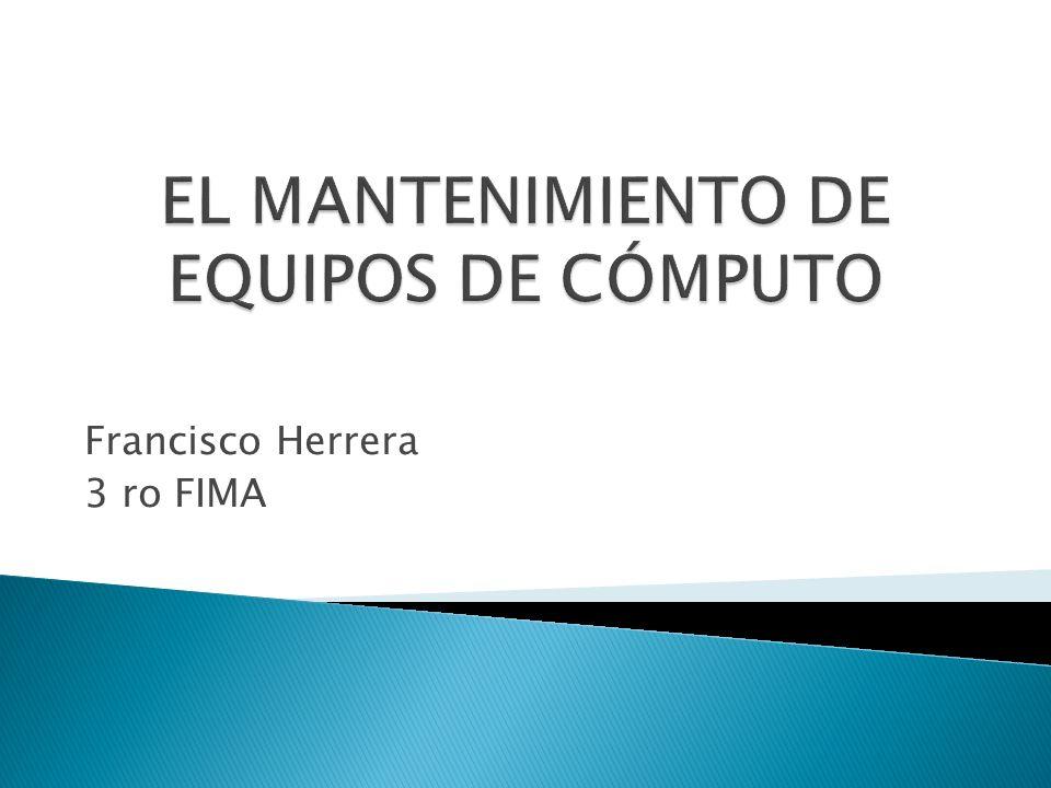 Francisco Herrera 3 ro FIMA