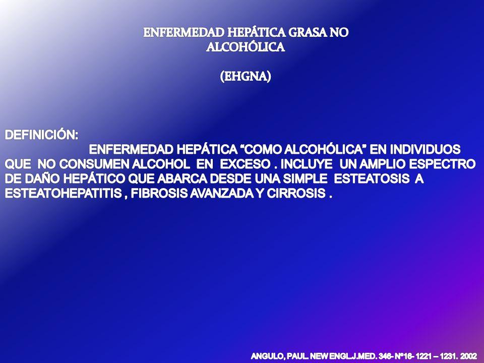 OBESIDAD Síndrome metabólico.Estado de inflamación crónica (alto TNF; baja adipolectina).
