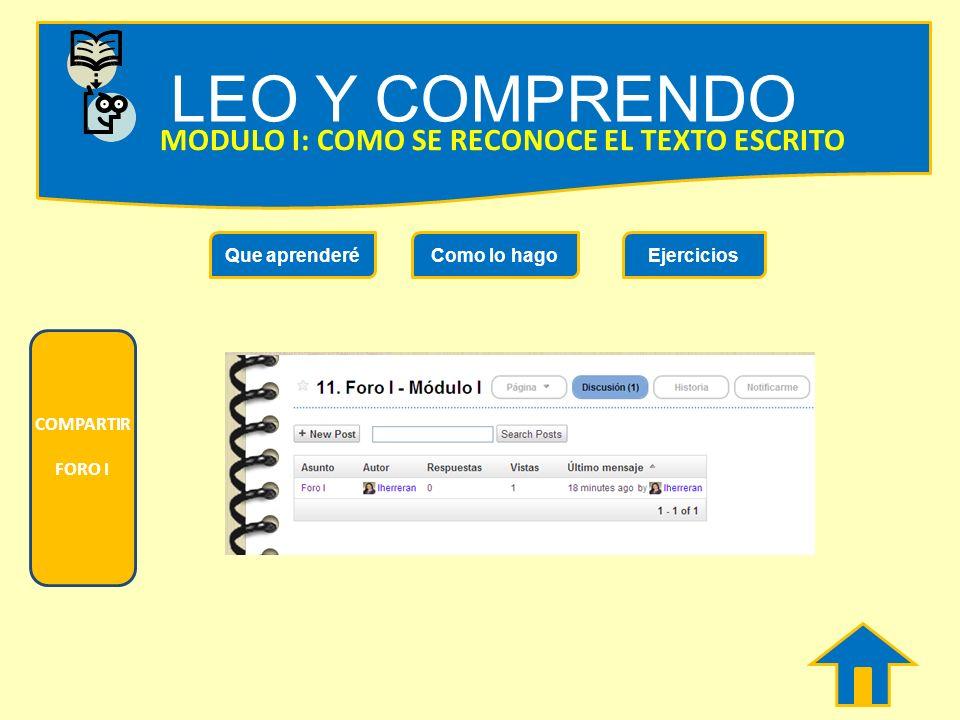 LEO Y COMPRENDO MODULO I: COMO SE RECONOCE EL TEXTO ESCRITO ¿ Qué es una biografía? ¿ Qué es un diario de vida? ¿ Qué es una autobiografía? Ejercicios