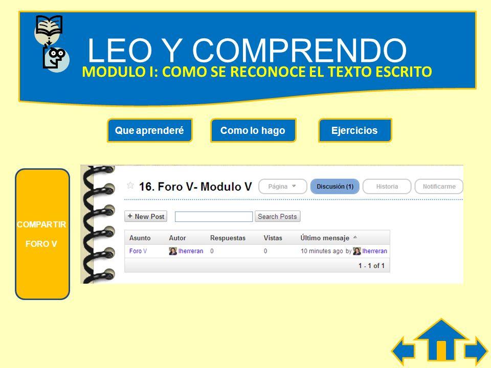 LEO Y COMPRENDO MODULO V: COMO DESCUBRIR LAS IDEAS FUNDAMENTALES Observa las imágenes, Dale una secuencia lógica y ordena la historia que relata el in