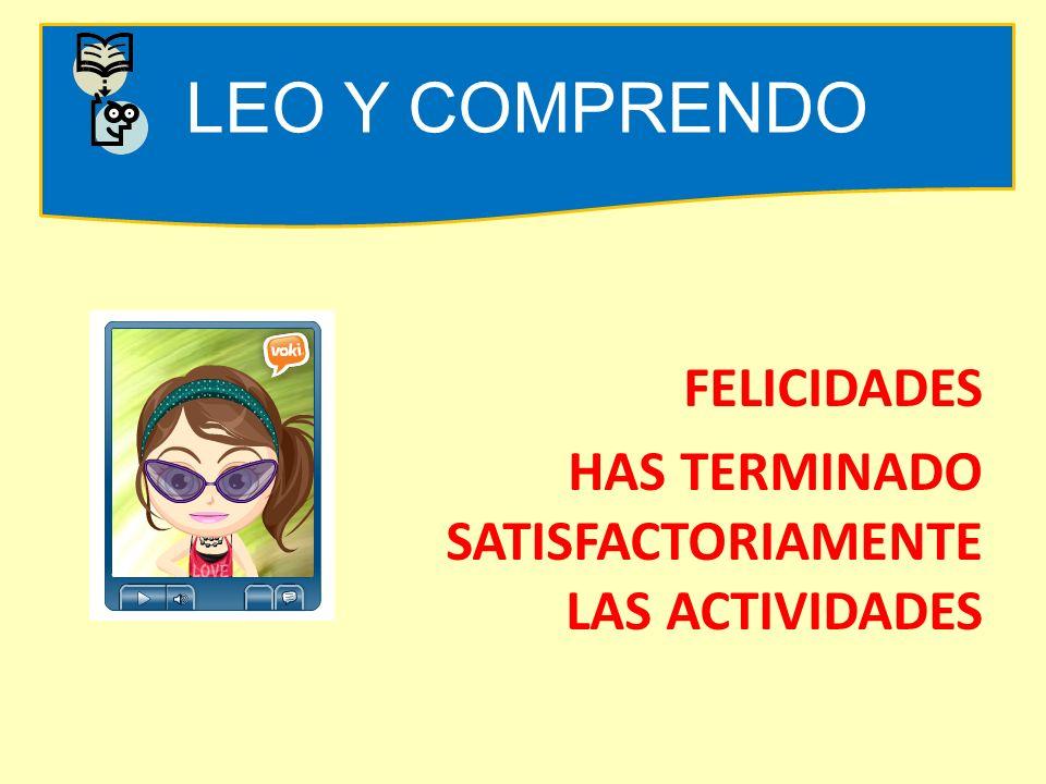 LEO Y COMPRENDO COMPARTIR FORO V MODULO I: COMO SE RECONOCE EL TEXTO ESCRITO Que aprenderéComo lo hagoEjercicios