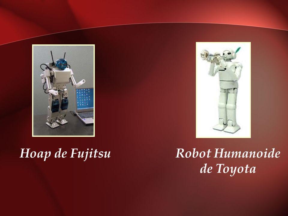 Hoap de FujitsuRobot Humanoide de Toyota