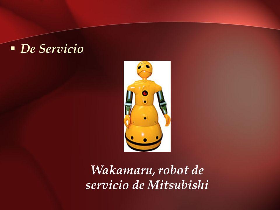 De Servicio Wakamaru, robot de servicio de Mitsubishi