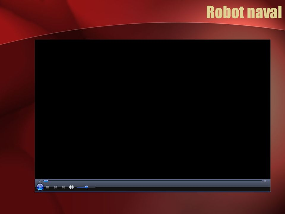 Robot naval