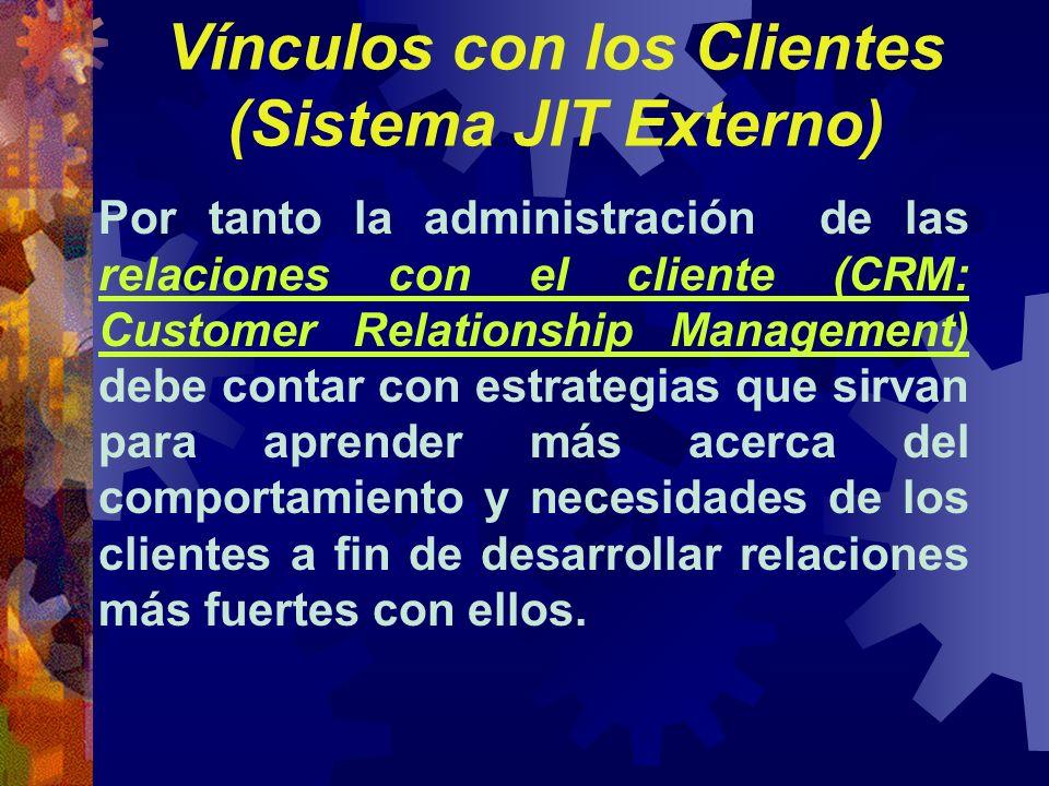 Por tanto la administración de las relaciones con el cliente (CRM: Customer Relationship Management) debe contar con estrategias que sirvan para apren