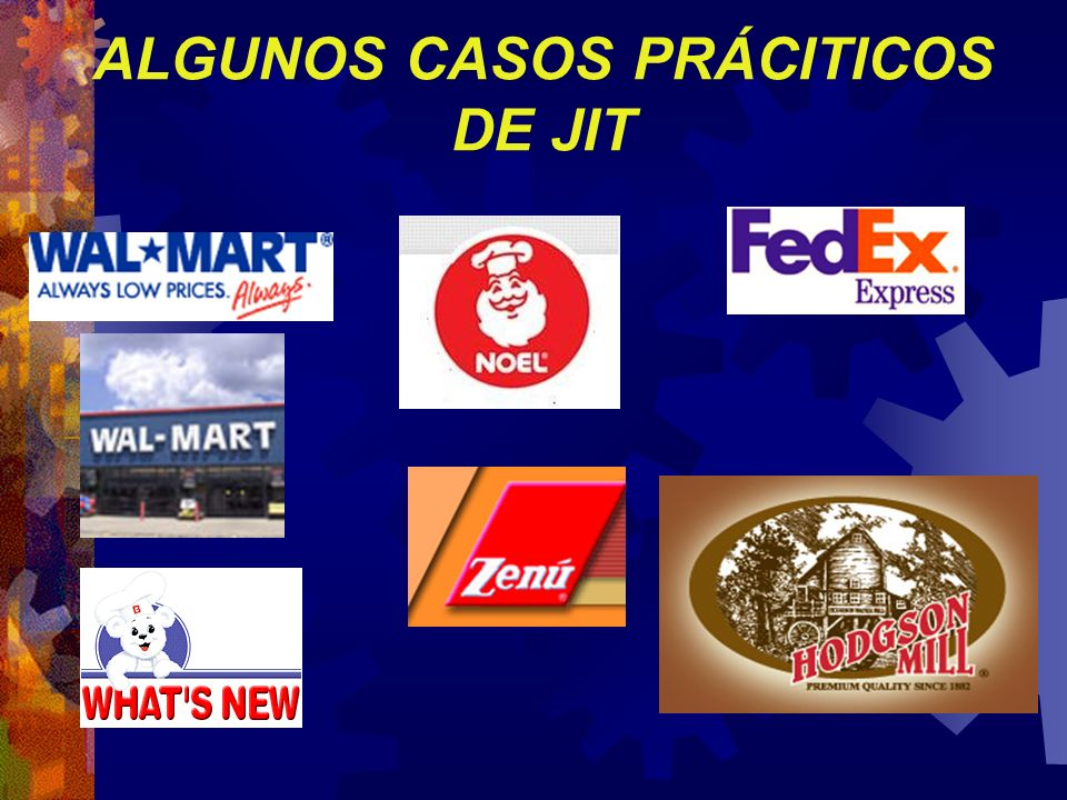 ALGUNOS CASOS PRÁCITICOS DE JIT