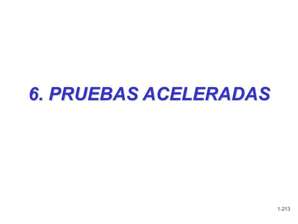 1-213 6. PRUEBAS ACELERADAS