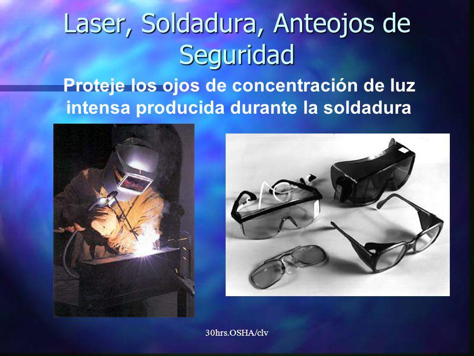 30hrs.OSHA/clv Laser, Soldadura, Anteojos de Seguridad Proteje los ojos de concentración de luz intensa producida durante la soldadura