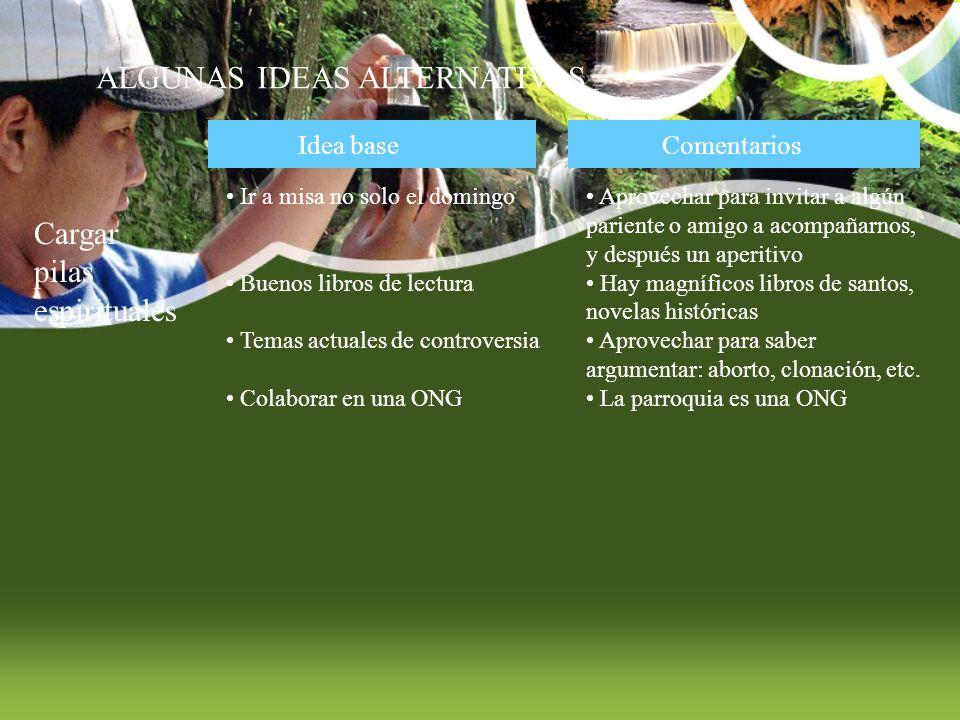 FUENTES EN INTERNET www.aprendemas.com www.paleorama.es Aprender paleontología y actividades de hombres prehistóricos Ocio organizado en la Comunidad de Madrid www.clubaltamira.es Campamentos de verano divertidos, de garantía www.elmundo.es/magazine/num137/textos/hijos.html 50 ideas, 50 direcciones en toda España para niños www.canalsolidario.org Como ayudar a otros este verano www.educaresfacil.com Blog con un buen artículo de cómo planificar las vacaciones Autor: Equipo COF Virgen de Olaz www.cmasuncion.org Campamentos,convivencias familiares, peregrinaciones