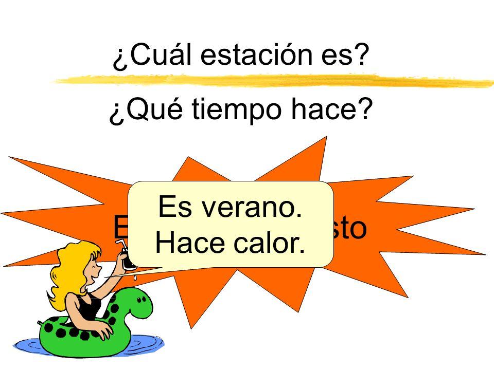 ¿Qué tiempo hace…..? z Hoy ….. z En el invierno …. z En el verano ….. z En la primavera ….. z En el mes de enero? z En el mes de junio? z En el mes de