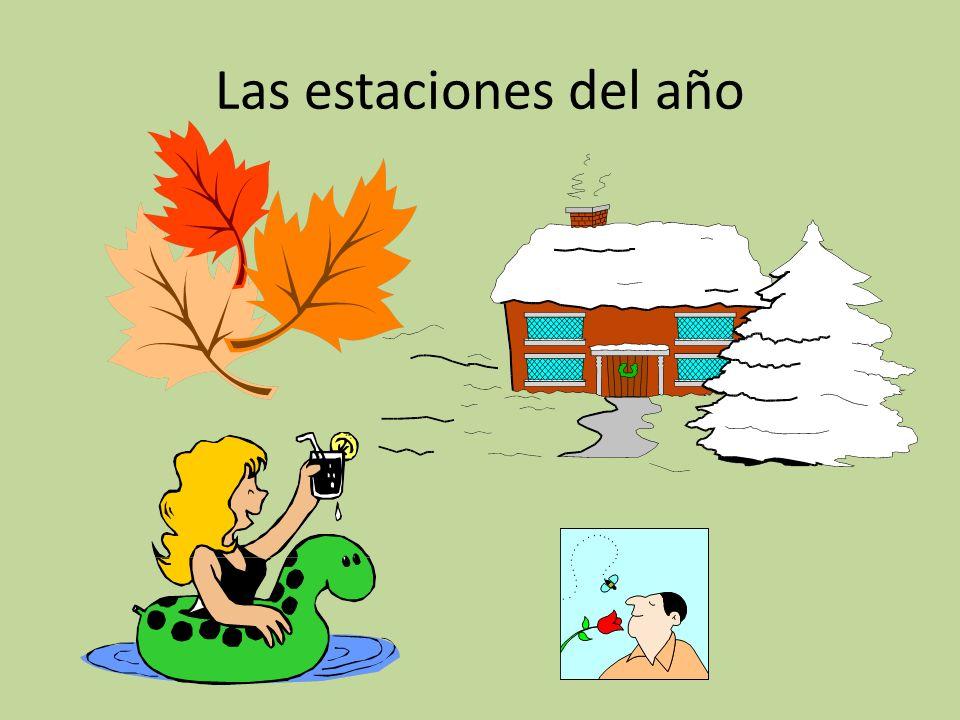 Es el 10 de enero ¿Cuál estación es? ¿Qué tiempo hace? Es invierno. Hace frío.