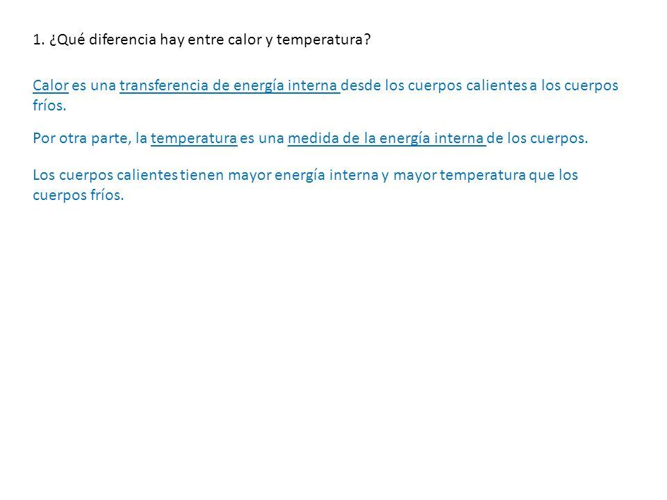 2.Define equilibrio térmico.