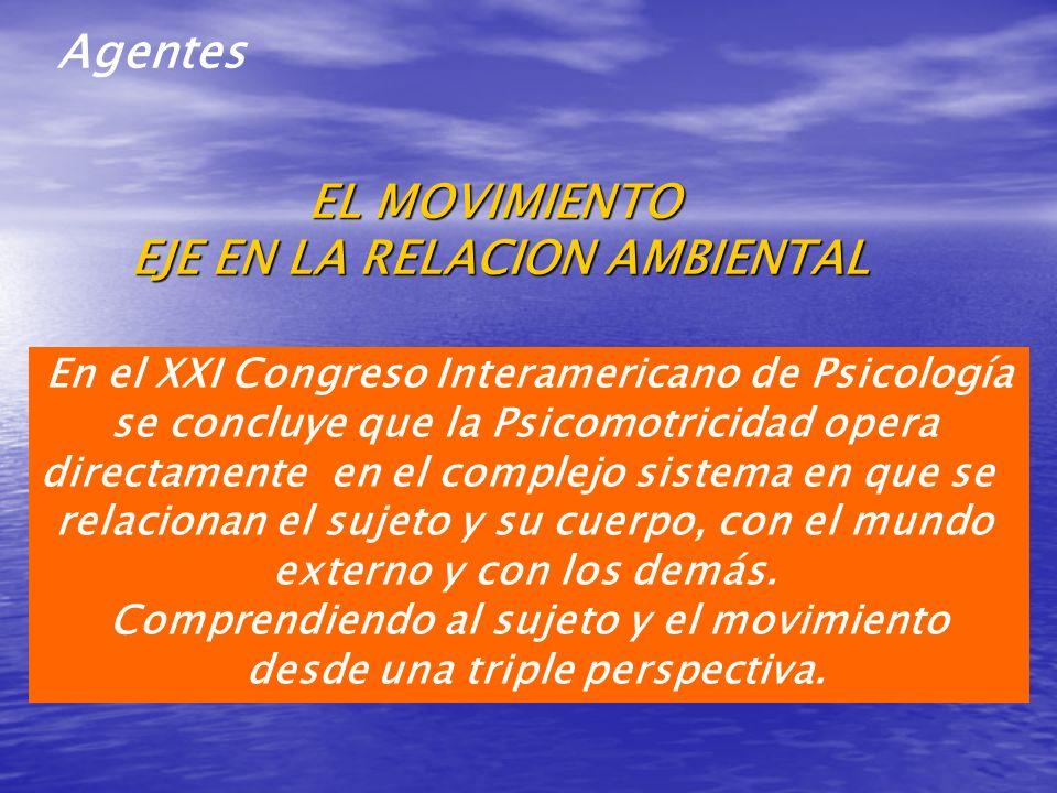 En el XXI Congreso Interamericano de Psicología se concluye que la Psicomotricidad opera directamente en el complejo sistema en que se relacionan el s