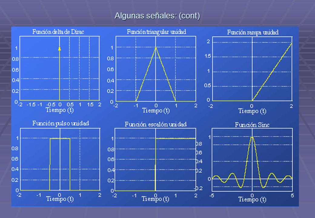 TECNICAS DIGITALES III7 Operaciones con señales: Desplazamiento en el tiempo: x(t-2), desp.