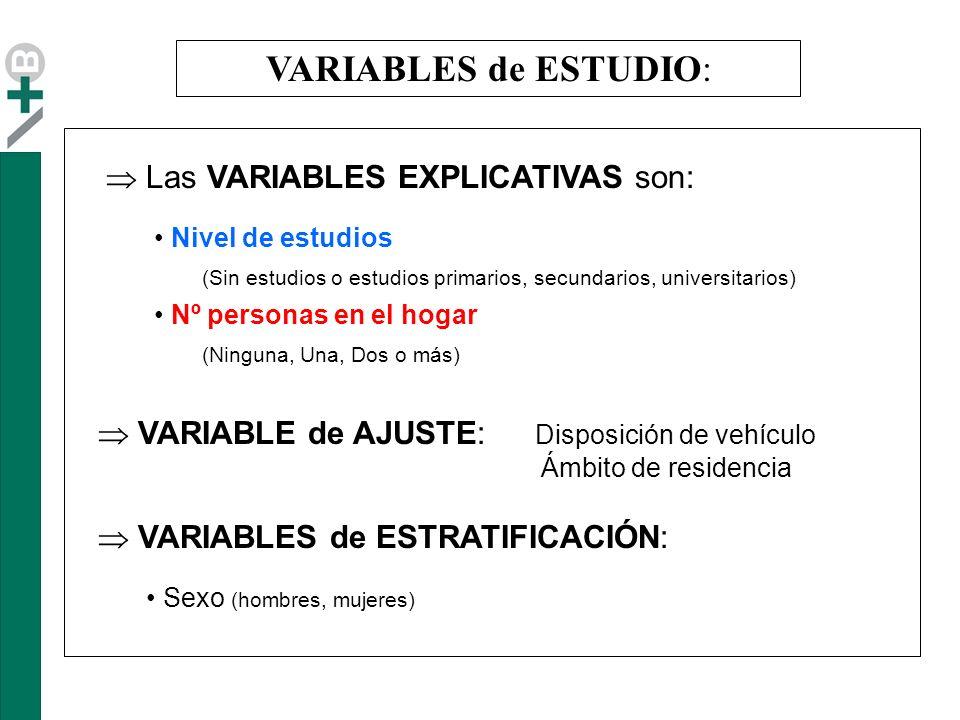 Variable Tiempo empleado en desplazamiento según motivo: Las vueltas han sido excluidas del estudio.