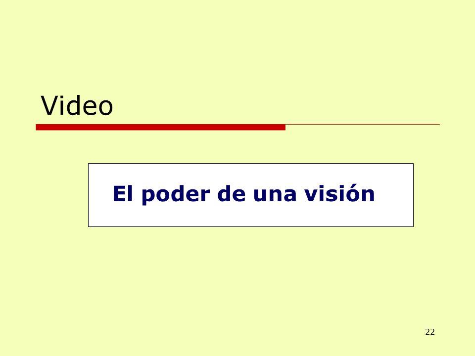Video El poder de una visión 22