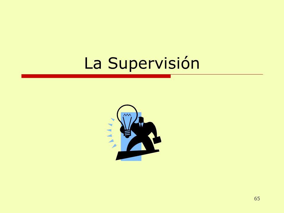 La Supervisión 65