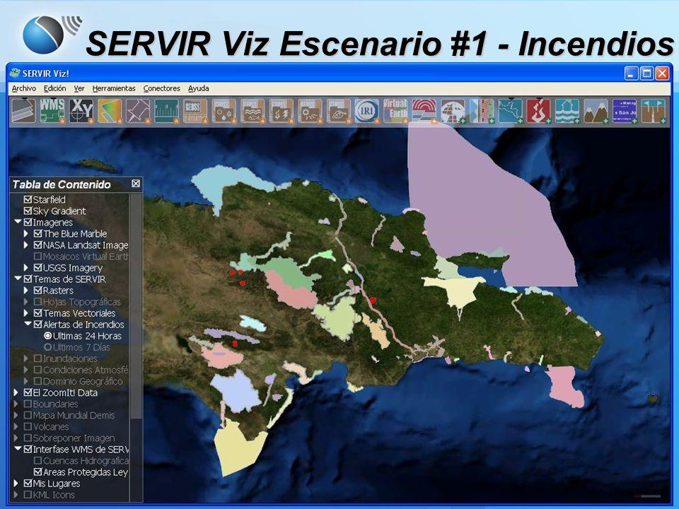 Acerca de la caché SERVIR Viz instala imágenes de resolución amplia y datos de elevación.