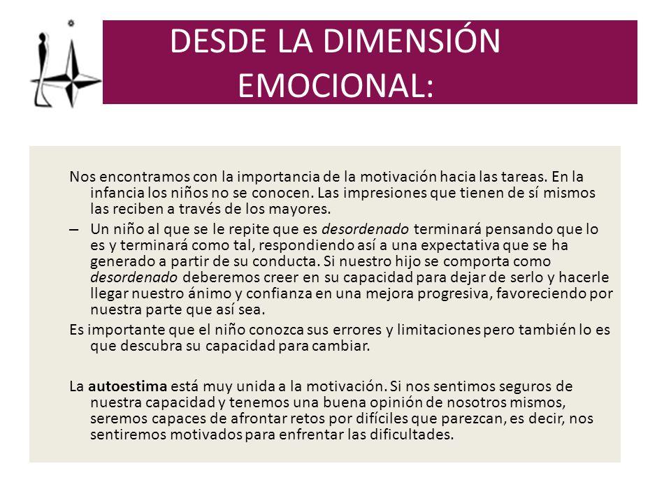 El componente afectivo de la motivación lo constituyen las emociones.