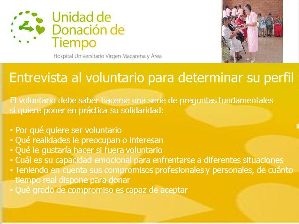 Una vez realizada la selección de los candidatos a voluntarios, y dependiendo de su perfil y a qué tipo de paciente pueda acompañar, será asignado a una de las asociaciones de voluntarios u ONG´s que actúan en el hospital.