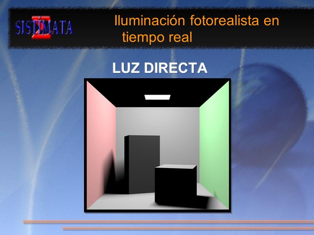 Iluminación fotorealista en tiempo real
