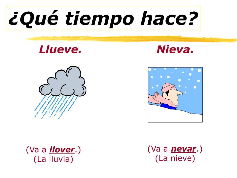 Hay tormentas = Its storming Hay lluvia y nubes. Hace muy mal tiempo. Es la primavera en EE.UU