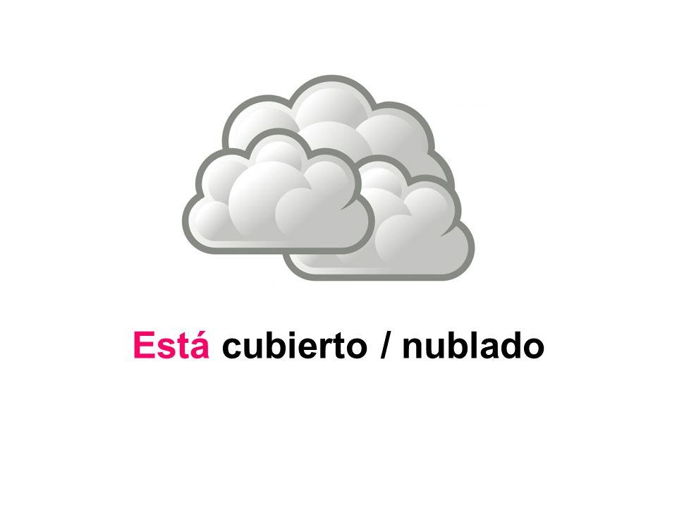 Está muy nuboso