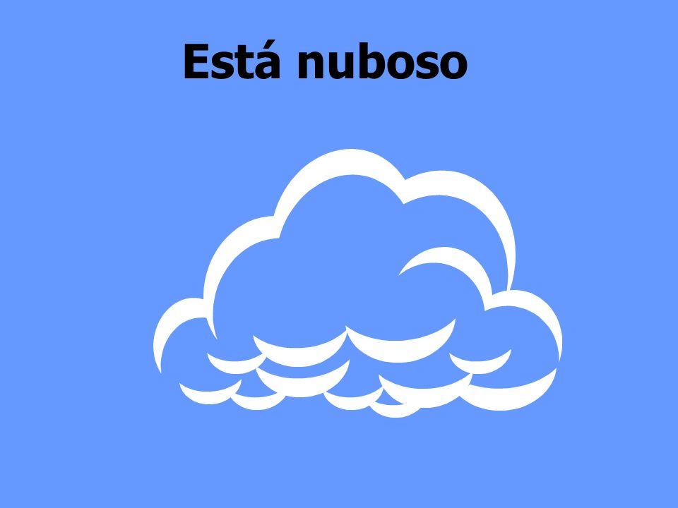 Está nuboso