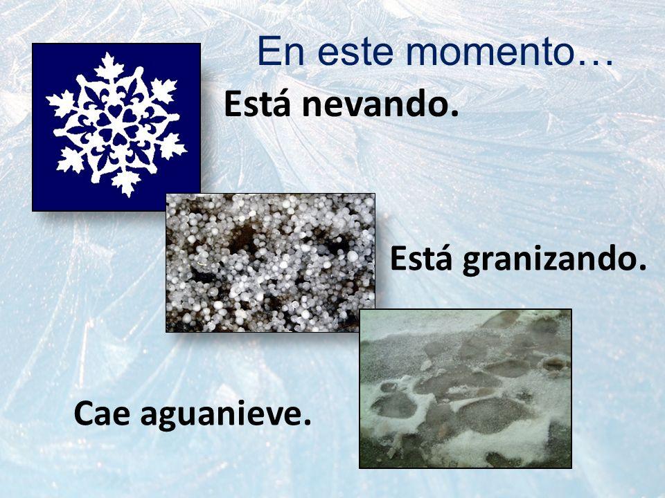 La temperatura está a _________ grados (Fahrenheit o Centígrado/Celcio(s)) Está a 40 grados bajo cero.