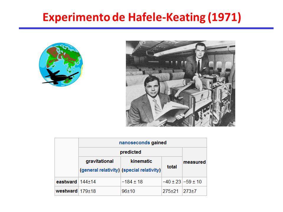 Experimento de Hafele-Keating (1971)
