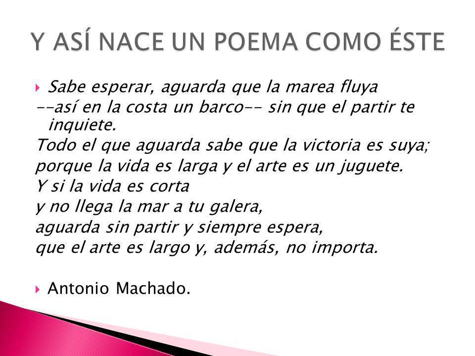Machado Manifiesta desdén hacia placeres fáciles
