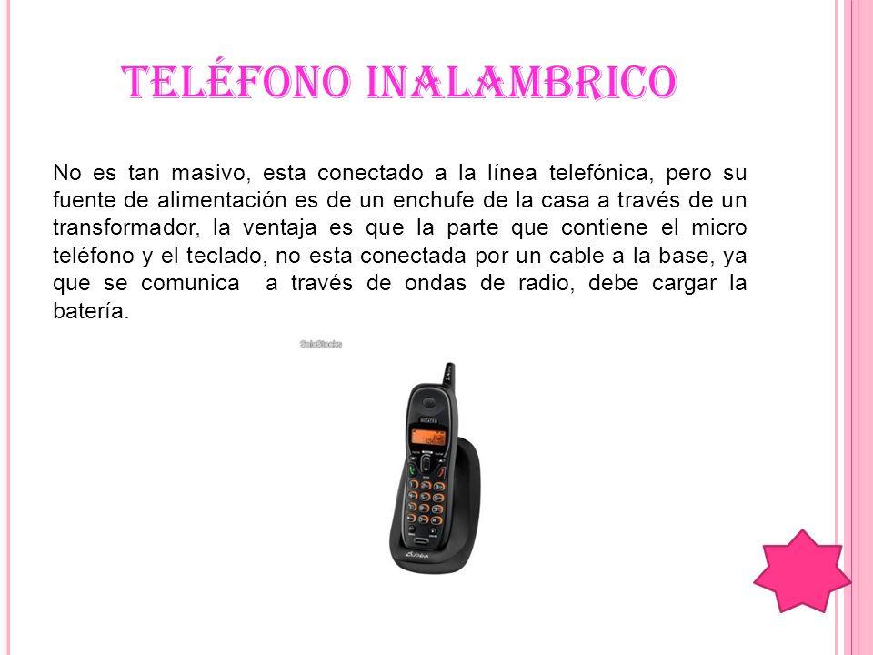 TELÉFONO MULTILÍNEA Muy usado en las oficinas, ofrece varios servicios, tienen varias líneas, tienen el sistema.