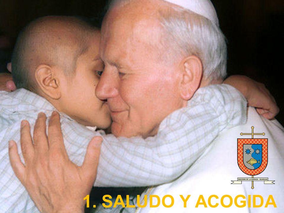 1. SALUDO Y ACOGIDA