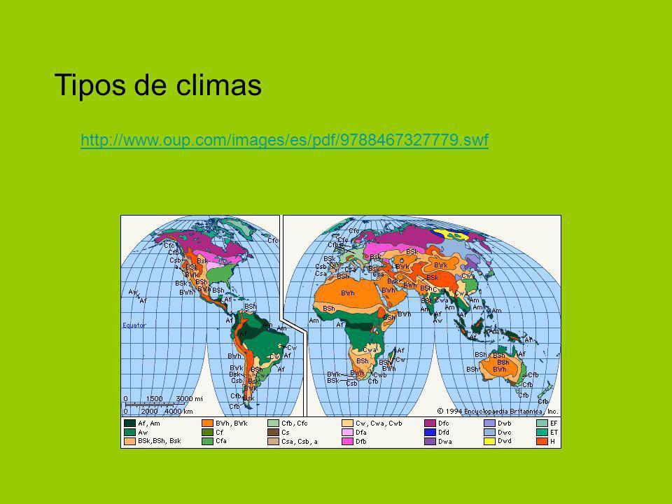 http://www.oup.com/images/es/pdf/9788467327779.swf Tipos de climas