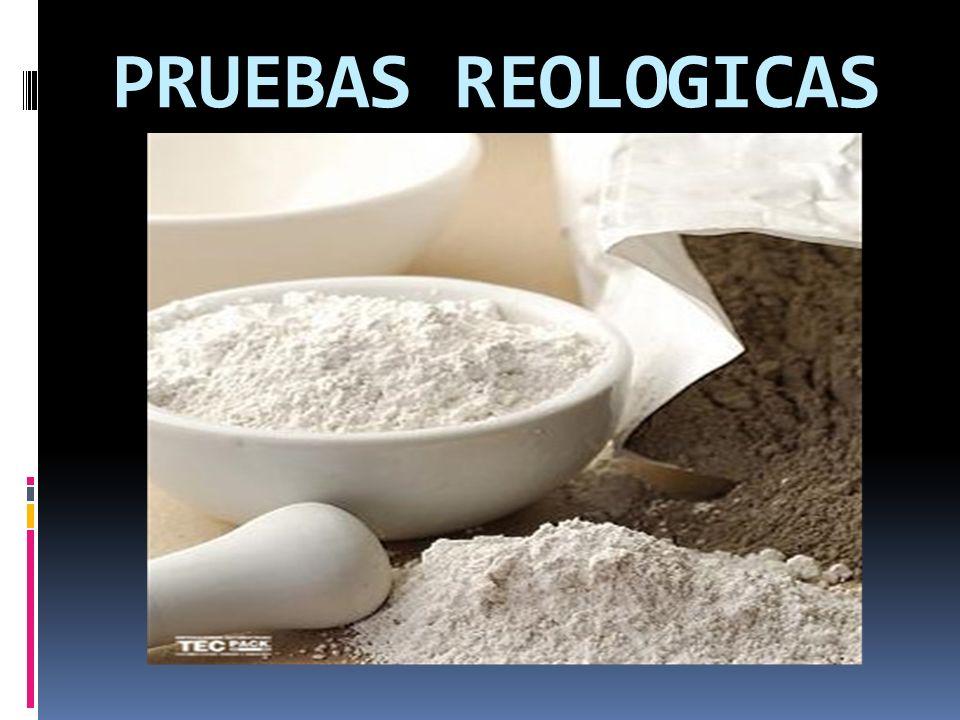 PRUEBAS REOLOGICAS