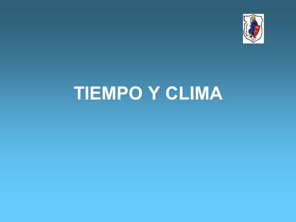 1.2- ELEMENTOS DEL CLIMA.SON AQUELLAS PARTES FUNDAMENTALES EN LA EXISTENCIA DEL CLIMA.