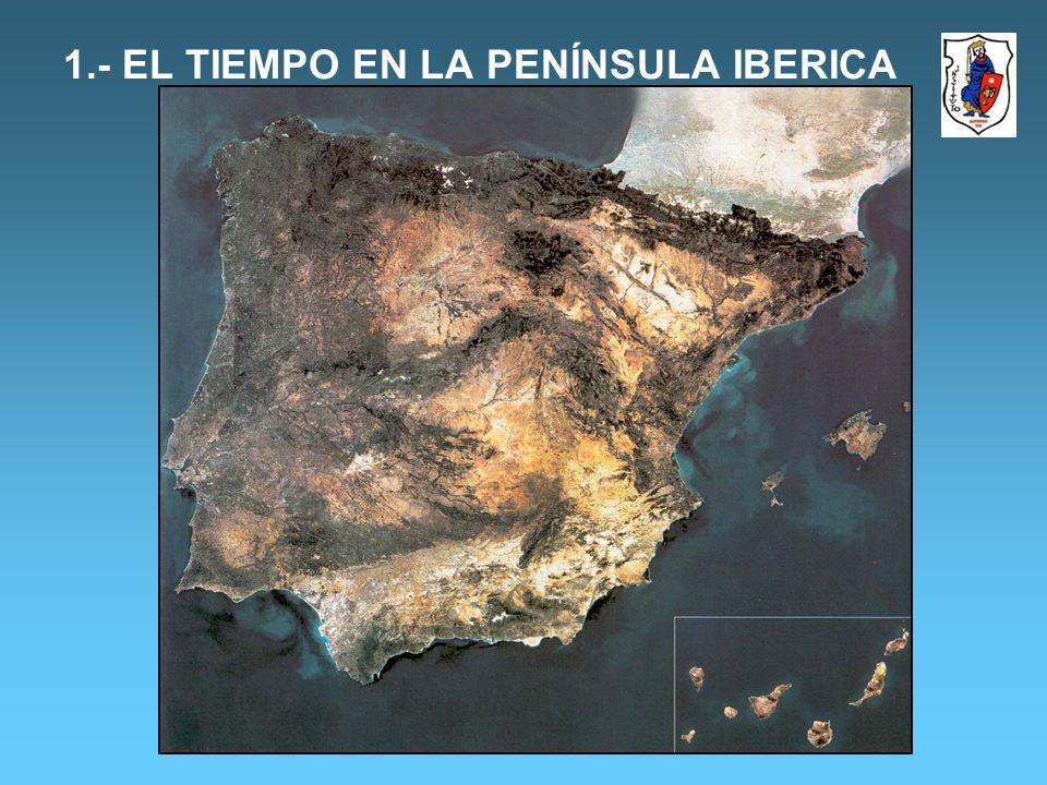 MAPA DE PRECIPITACIONES EN LA P.I VARIEDAD DE PRECIPITACIONES EN LA PENINSULA IBÉRICA