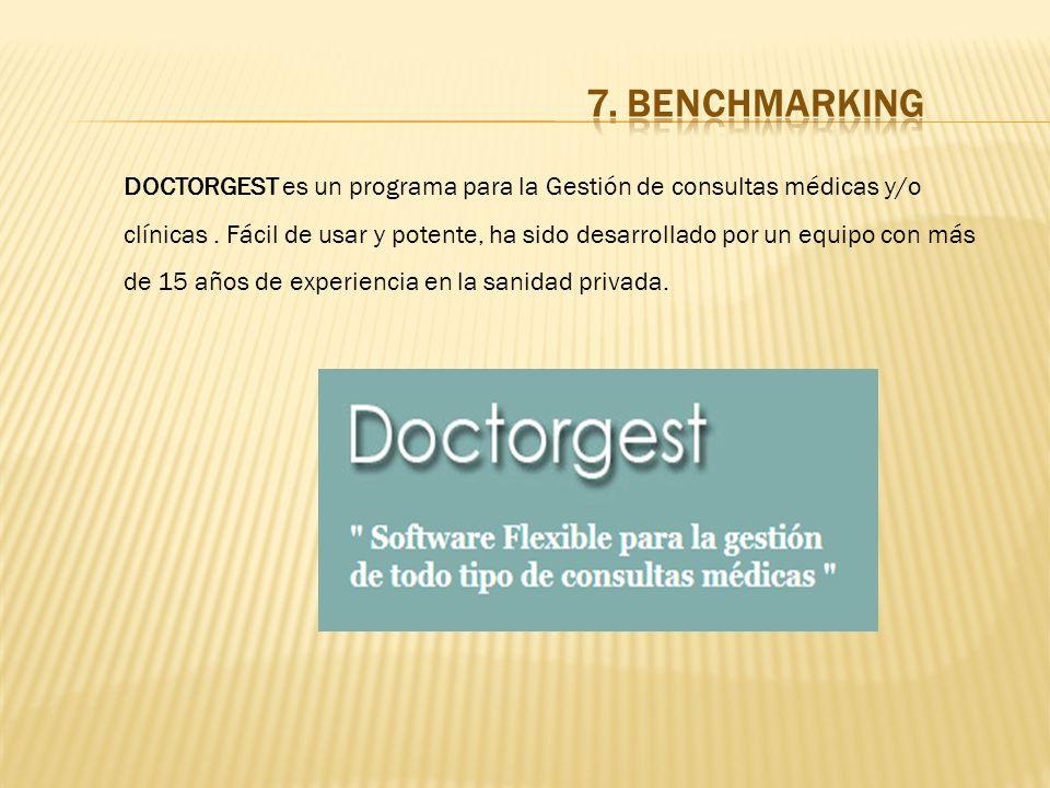 DOCTORGEST es un programa para la Gestión de consultas médicas y/o clínicas.