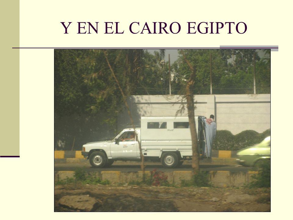 Y EN EL CAIRO EGIPTO