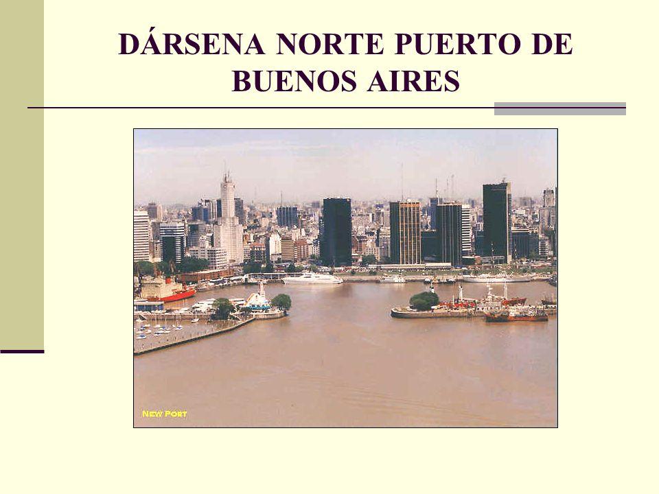 DÁRSENA NORTE PUERTO DE BUENOS AIRES