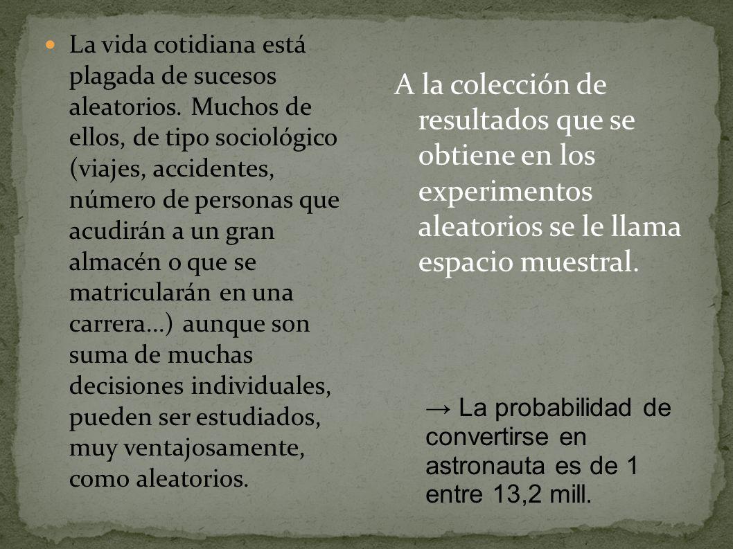 En el año 1763, dos años después de la muerte de Thomas Bayes (1702-1761), se publicó una memoria en la que aparece, por vez primera, la determinación de la probabilidad de las causas a partir de los efectos que han podido ser observados.