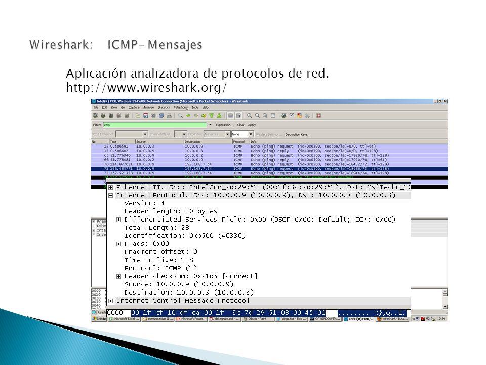 Aplicación analizadora de protocolos de red. http://www.wireshark.org/
