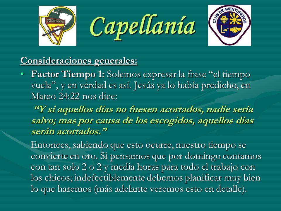 Capellanía FUNCIONES DEL CAPELLÁN Visitar las Unidades: El Capellán debe visitar a todas las Unidades.