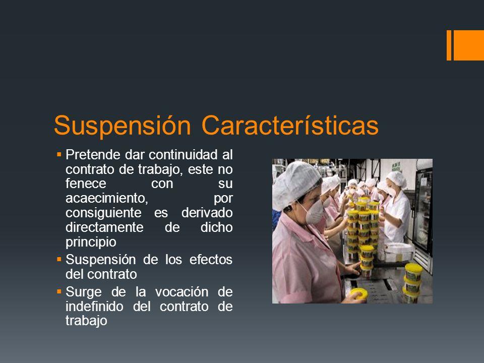 La suspensión total o parcial de los contratos de trabajo no implica su terminación ni extingue los derechos y obligaciones que emanen de los mismos.