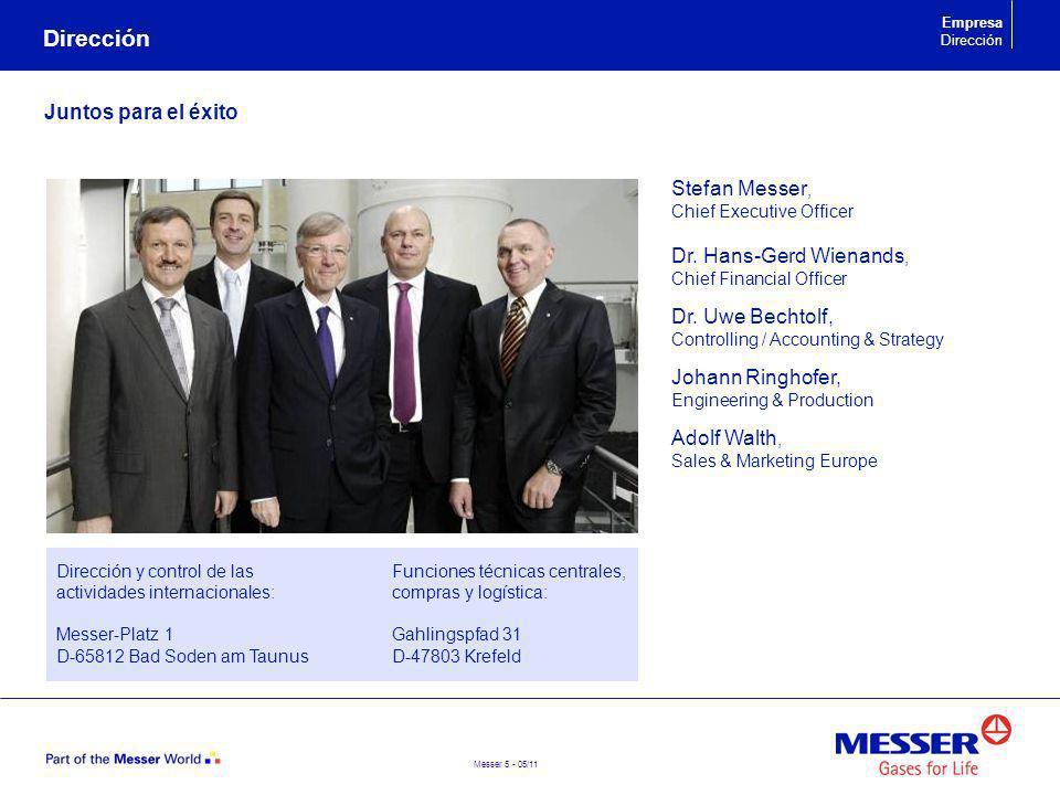 Messer 6 - 05/11 Las personas que están detrás Consejo de supervisión Dr.