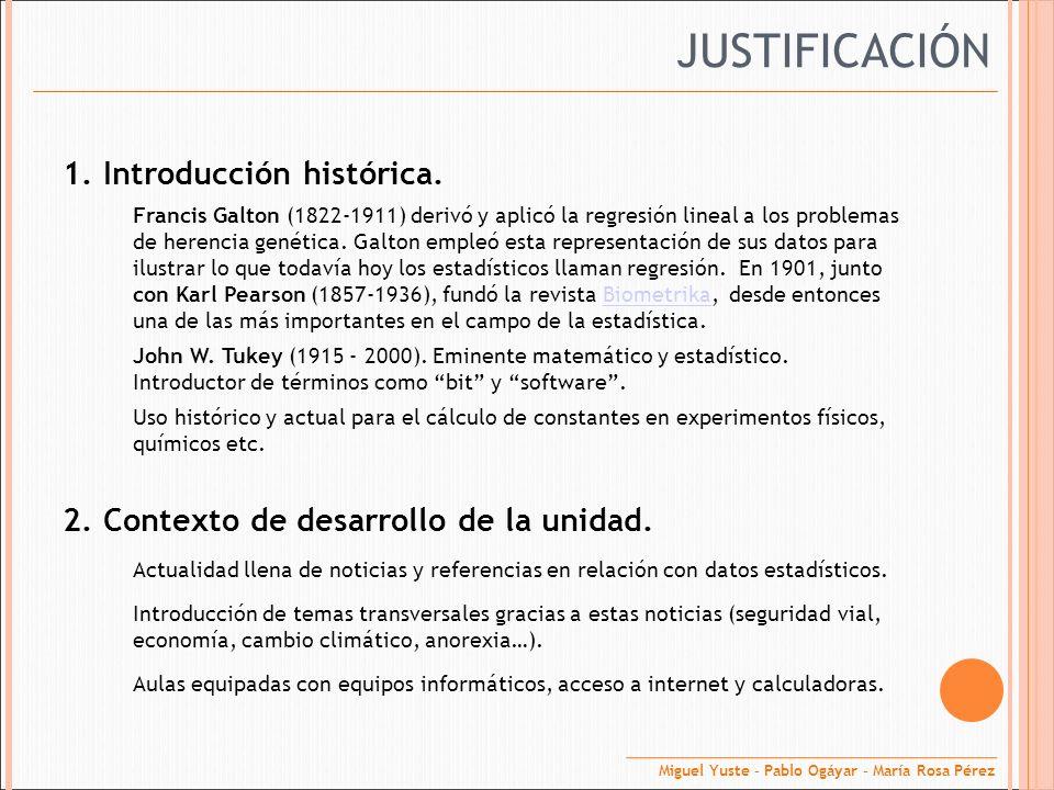 3.Relación de la unidad con el currículo prescriptivo.
