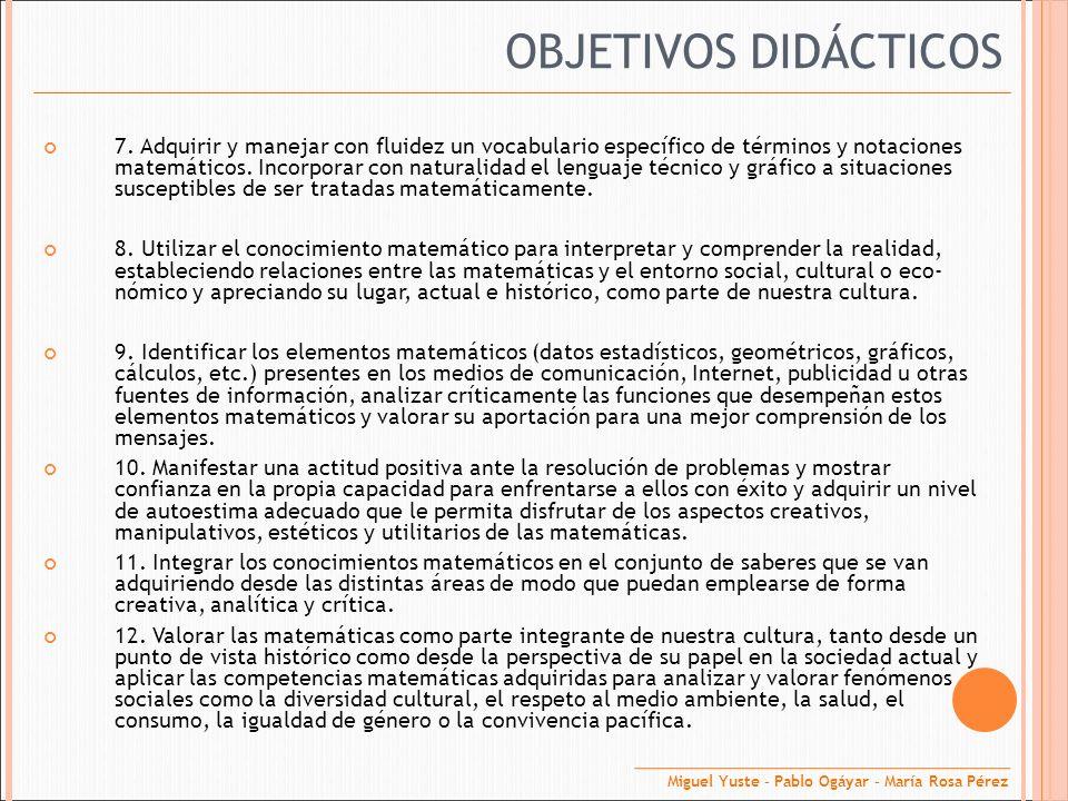 2.Objetivos de área. Conocer y diferenciar los conceptos de relación funcional y estadística.