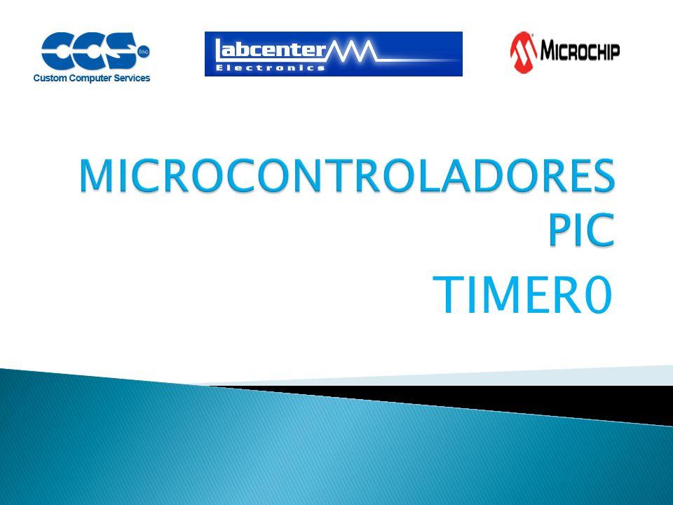 Es un modulo contador/temporizador de 8 BITs, que cuenta con un preescalador programable de 8 BITs Puede funcionar como temporizador o como contador En modo temporizador el modulo Timer0 se incrementa con cada ciclo de instrucción.