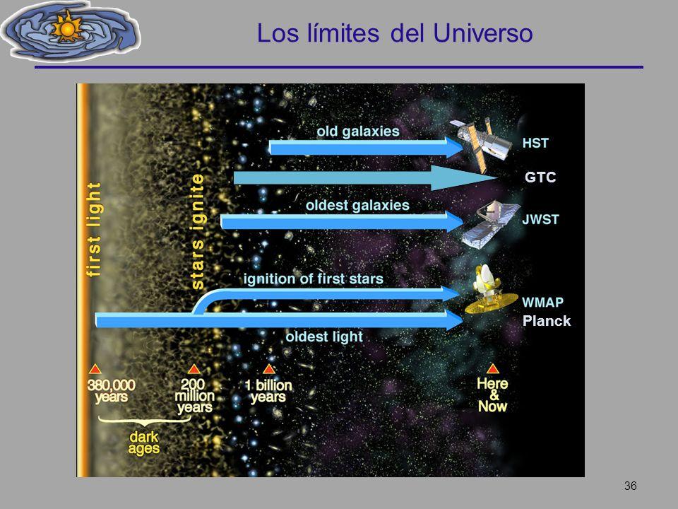 Los límites del Universo 36 GTC Planck